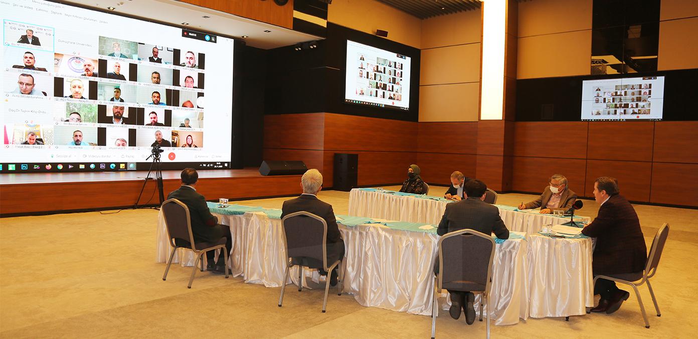 Üniversite Şube Başkanlarımız ve temsilcilerimizle istişarelerde bulunduk